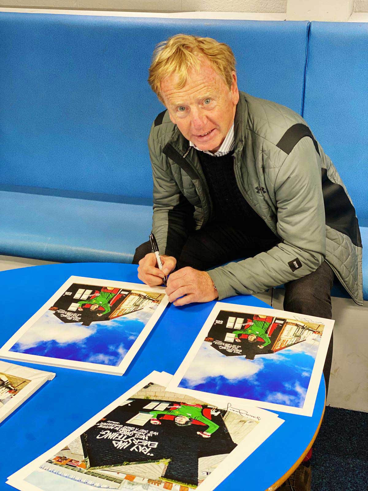 David-Fairclough-Signs-Ray-Clemence-Limited-Edition-Print